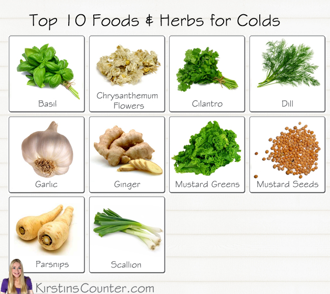 Herb for colds