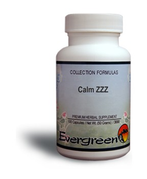 Calm ZZZ - Capsules (100 count) by Evergreen
