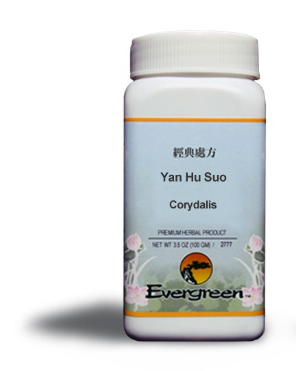 Corydalis - Yan Hu Suo - Granules (100gr) by Evergreen