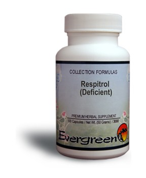 Respitrol (Deficient) - Capsules (100 count) by Evergreen